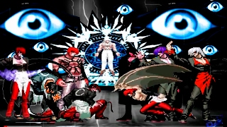 getlinkyoutube.com-KOF MUGEN OROCHI IORI TEAM VS ELEMENT TEAM