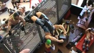 getlinkyoutube.com-WWE action figure set up: Comedy edition