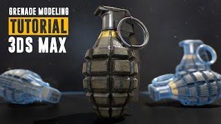 getlinkyoutube.com-Grenade Tutorial - Part 1 - Modeling & UV Unwrapping - 3Ds Max 2016