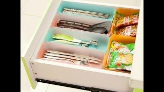 getlinkyoutube.com-تنظيم ادراج المطبخ باستخدام الزجاجات البلاستيك