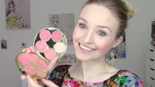 getlinkyoutube.com-Tarte - Color Wheel Amazonian Clay Blush Palette Review/Swatches/Comparison! (Holiday 2016)