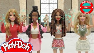 "getlinkyoutube.com-Play Doh Little Mix  "" Black Magic"" Inspired Costumes"