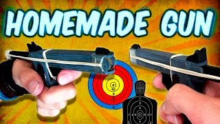 getlinkyoutube.com-How to Make a Mini Gun Using Popsicle Sticks (Homemade Weapons)