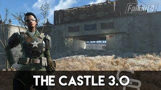 getlinkyoutube.com-Fallout 4 - The Castle 3.0 (Updated Castle Tour)
