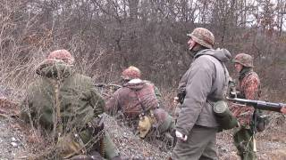 getlinkyoutube.com-Battle of The Bulge Reenactment 2010 - HD 59:20