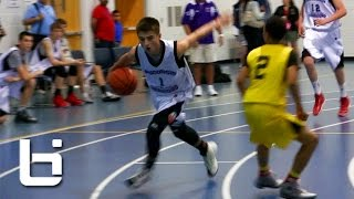 "getlinkyoutube.com-The New ""White Chocolate"" 8th grader Jordan McCabe Flashes FILTHY Ball-Handling and Passing Skills"