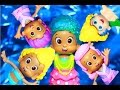 Bubble Guppies Molly Mermaid Hair Salon Changing Outfits Makeover Epic Nick Jr Video Fisher Price