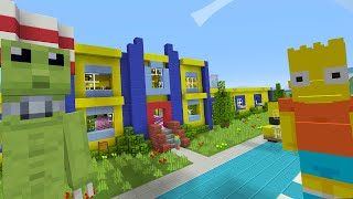 getlinkyoutube.com-Minecraft Xbox - The Simpsons Springfield - Minecraft Roleplay [1]