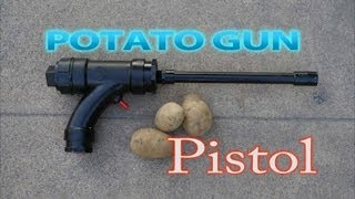getlinkyoutube.com-How To Make A Potato Gun Pistol