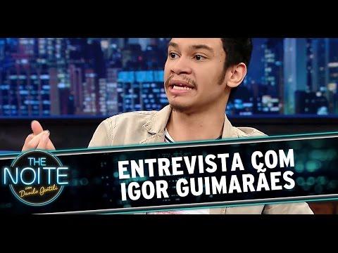 The Noite (25/11/14) - Danilo Gentili entrevista Igor Guimarães
