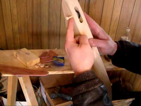 How to build a toy Airplane from Wood