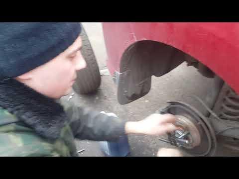 Восстановление резьбы в ступице своими руками на Пежо 308