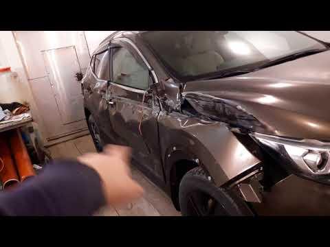 Кузовной ремонт NISSAN Qashqai Часть1