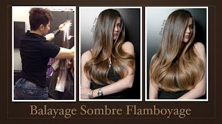 getlinkyoutube.com-Flamboyage Sombre Balayage Hair