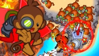 getlinkyoutube.com-Bloons TD Battles - BOOMERANG GANG! CAN IT DEFEND?! - Bloons TD Battles Strategy