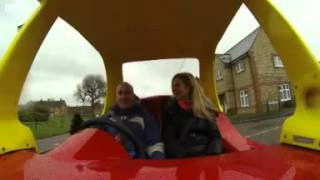 getlinkyoutube.com-Adult sized 'Little Tikes' takes to the road