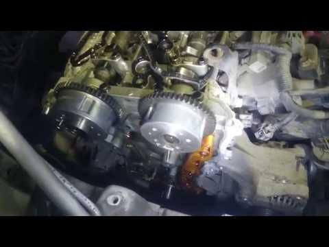 Hyundai ix35 ошибка p0017, замена цепи ГРМ, натяжителя. Диагностика и ремонт Хюндай ix35.