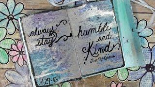 getlinkyoutube.com-Embossed Handwriting