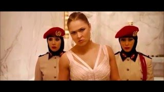 'Furious 7' Fight Scene featuring Ronda Rousey width=