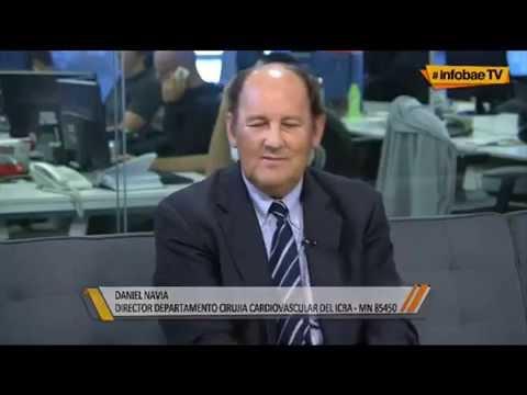 Novedosa técnica mini invasiva de implante valvular aórtico Dr Navia Daniel