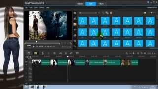 """getlinkyoutube.com-Corel VideoStudio Pro X8 Tutorial Español """"Transiciones y efectos"""""""