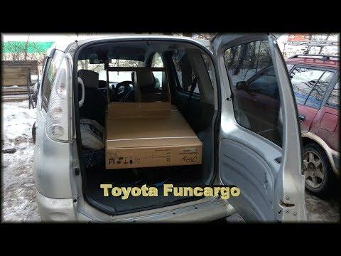 Toyota Funcargo Тойота Фанкарго Фунтик Yaris Verso вместимость салона
