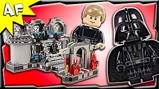 getlinkyoutube.com-Lego Star Wars DEATH STAR FINAL DUEL 75093 Stop Motion Build Review