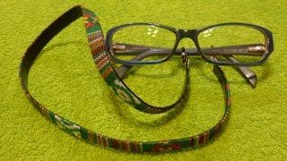 getlinkyoutube.com-Como hacer un cordon para gafas CORDON GAFAS ETNICO