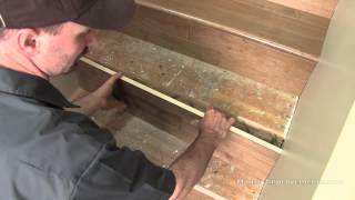 getlinkyoutube.com-How To Install Hardwood on Stairs