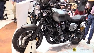 getlinkyoutube.com-2016 Yamaha XJR1300 - Walkaround - 2015 EICMA Milan