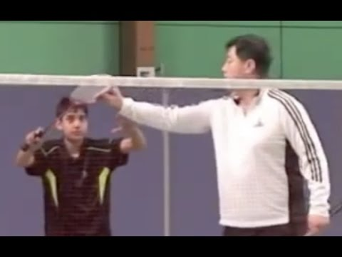 Badminton-Doubles Footwork Training (5)