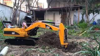 getlinkyoutube.com-full metal conversion rc excavator 1