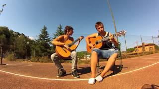 getlinkyoutube.com-Enrique iglesias-Bailando fingerstyle 2 guitars