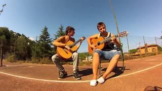 Enrique iglesias-Bailando fingerstyle 2 guitars