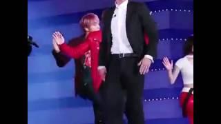 EUNKOOK DANCED TOGETHER 161008 DMC FESTIVAL (Eunha Gfriend & Jungkook BTS)