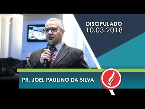 5º Congresso de Discipulado - Pr. Joel Paulino da Silva - Abertura - 10 03 2018