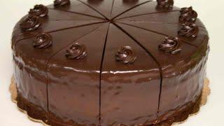 getlinkyoutube.com-أسهل طريقة لعمل كيكة الشوكولاتة اللذيذة 2016 I حلويات