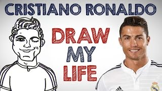 getlinkyoutube.com-Cristiano Ronaldo | Draw My Life