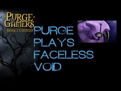 Dota 2 Purge plays Void