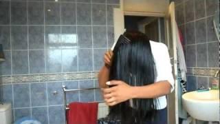getlinkyoutube.com-How to Oil your hair for  healthy growth