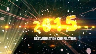 getlinkyoutube.com-BEST Animation Compilation 2015/2016 - 3D EFFECTS NYE PARTY Timer Effect Remixed