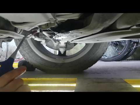 Замена масла в редукторе переднего моста. 4 MATIC Mercedes Benz GLK 300