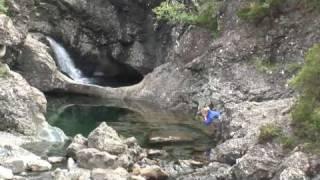 getlinkyoutube.com-Swimming the Isle of Skye's Fairy Pools