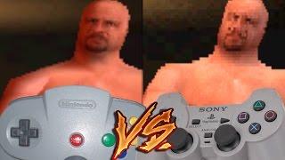 getlinkyoutube.com-Nintendo 64 Vs PlayStation - WWF Warzone