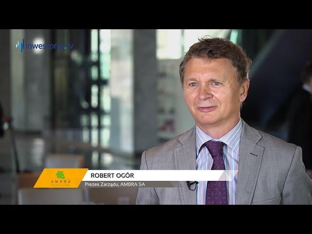 AMBRA SA, Robert Ogór - Prezes Zarządu, #62 PREZENTACJE WYNIKÓW