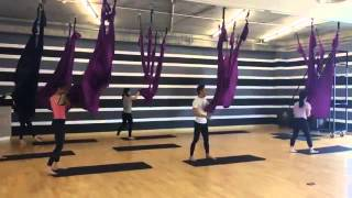getlinkyoutube.com-Feel Studio Center Yoga fly, Pilates, TRX at Chidlom Bangkok