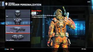 How to put CAMO on your showcase/display weapon Black Ops 3