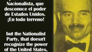 Albizu Campos habla sobre el Estado Libre Asociado de Puerto Rico (PARTE 1 de 3)