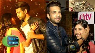 getlinkyoutube.com-Karan Kundra aka Rahul Took Many TAKES For a Kissing Scene | Yeh Kaha Aa Gaye Hum