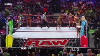 Mickie James, Kelly Kelly & Gail Kim vs. Maryse, Rosa Mendes & Alicia Fox (HD).mp4